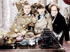 YOU NAZTY SPY, from left: Curly Howard, Moe Howard, Larry Fine, [aka The Three Stooges], 1940