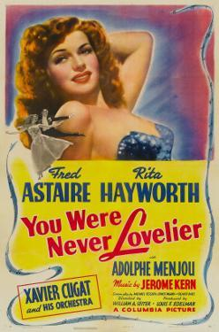 You Were Never Lovelier, Rita Hayworth, 1942