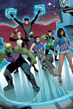 Young Avengers No. 7: Miss America, Marvel Boy, Hawkeye, Hulkling, Loki, Wiccan