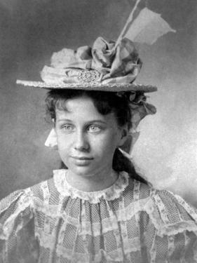 Young Bess Wallace, the Future First Lady, Bess Truman