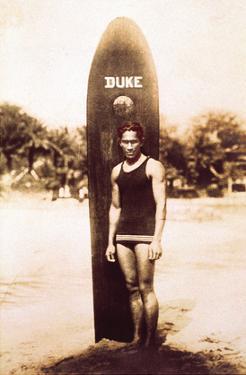 Young Duke Kahanamoku, Honolulu, Hawaii