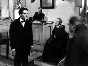 Young Mr. Lincoln, Henry Fonda, Spencer Charters, Alice Brady, 1939