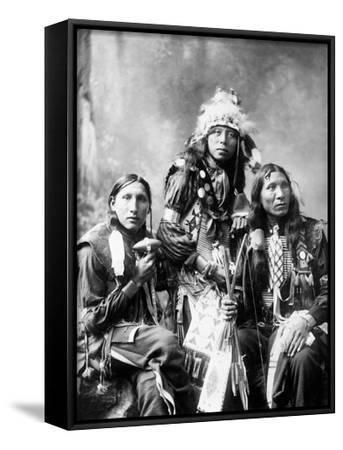 Young Sioux Men, 1899