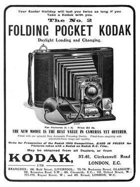 Your Easter Holiday Will Last You Twice as Long if You Take a Kodak with You