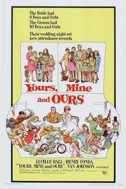 Yours, Mine and Ours, Henry Fonda, Lucille Ball, 1968