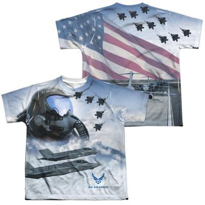 Youth: Air Force- Pilot (Front/Back)