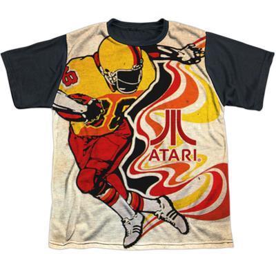 Youth: Atari: Football- Rush Action Black Back