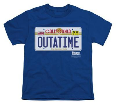 Youth: Back To The Future - Outatime Plate