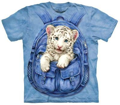 Youth: Backpack White Tiger