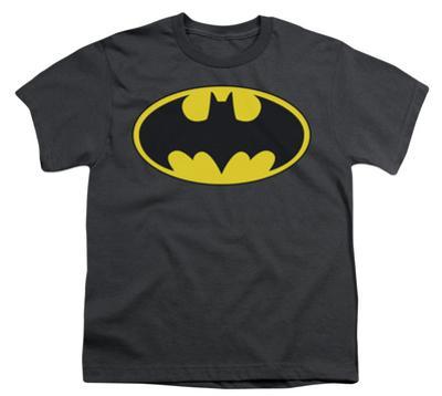 Youth: Batman-Classic Bat Logo