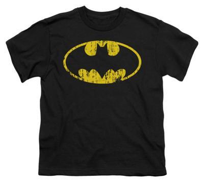 Youth: Batman - Classic Logo Distressed