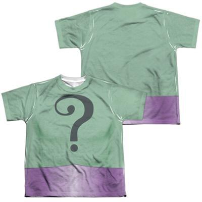 Youth: Batman Classic Tv- Riddler Uniform (Front/Back)