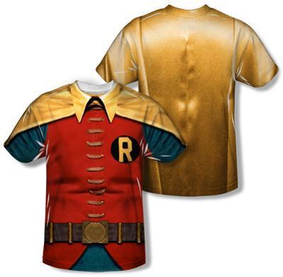Youth: Batman Classic TV - Robin Costume (Front/Back Print)