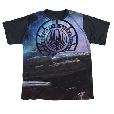 Youth: Battle Star Galactica- Desperate Odessy Black Back