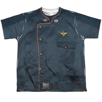 Youth: Battle Star Galactica- Duty Blue Uniform Tee