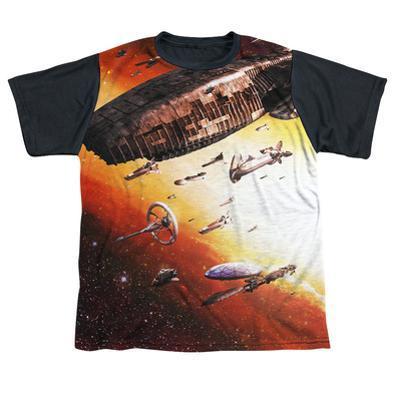 Youth: Battle Star Galactica- Ragtag Fleet Black Back