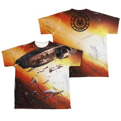 Youth: Battle Star Galactica- Ragtag Fleet (Front/Back)