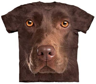 Youth: Chocolate Lab Face