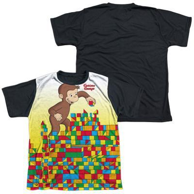 Youth: Curious George - Building Blocks(black back)
