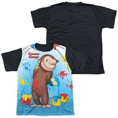 Youth: Curious George - Paint All Over(black back)
