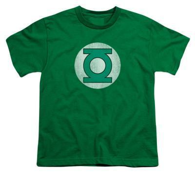 Youth: DC Comics - Green Lantern Logo - Distressed
