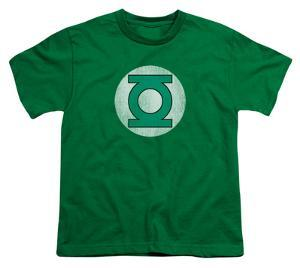 Youth: DC Comics - Green Lantern Logo - Distressed