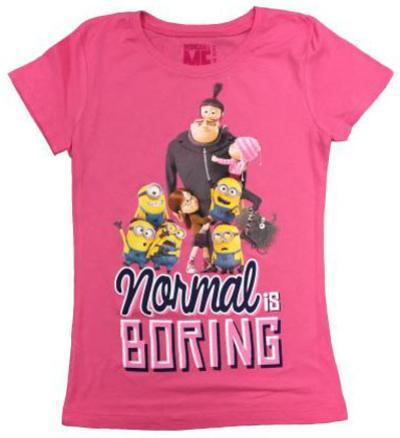 Youth: Despicable Me- Normal is Boring