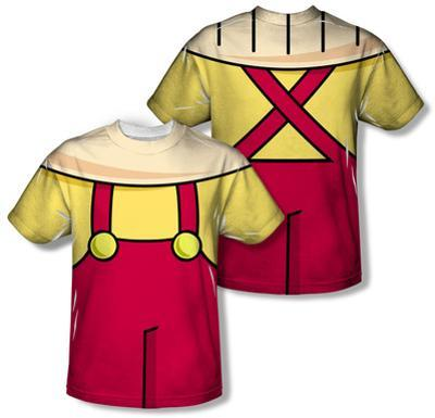 Youth: Family Guy - Stewie Griffin Costume Tee (Front/Back Print)