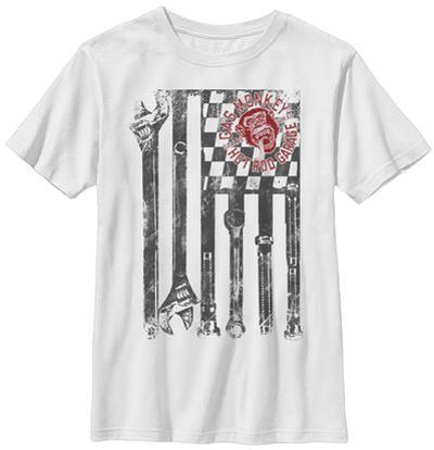 Youth: Gas Monkey- Wrench Flag