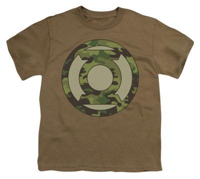 Youth: Green Lantern - Camo Logo