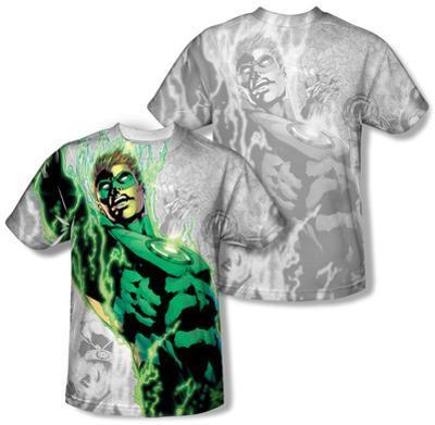 Youth: Green Lantern - Light Em Up (Front/Back Print)
