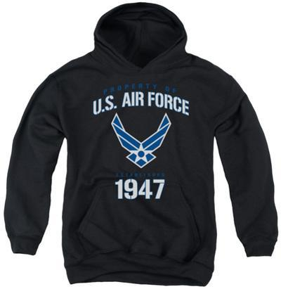 Youth Hoodie: Air Force - Property Of