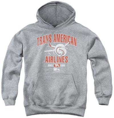 Youth Hoodie: Airplane - Trans American
