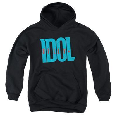 Youth Hoodie: Billy Idol- Logo