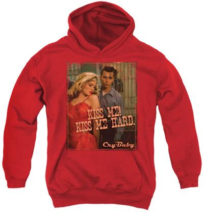 Youth Hoodie: Cry Baby - Kiss Me