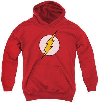 Youth Hoodie: DC Comics - Flash Logo