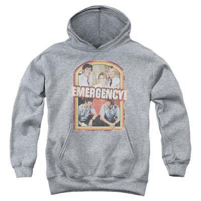 Youth Hoodie: Emergency - Retro Cast