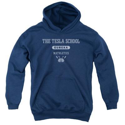 Youth Hoodie: Eureka - Tesla School