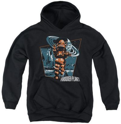 Youth Hoodie: Forbidden Planet - Robby Walks
