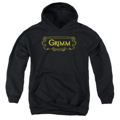 Youth Hoodie: Grimm - Plaque Logo