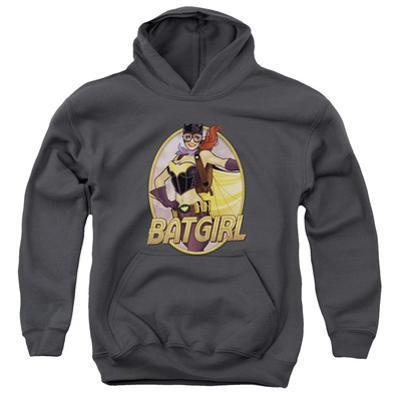 Youth Hoodie: JLA- Batgirl Bombshell