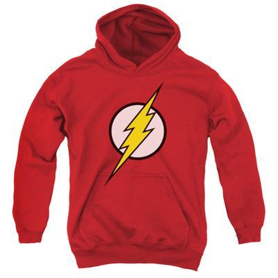 Youth Hoodie: Justice League - Flash Logo
