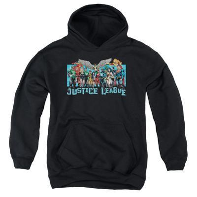 Youth Hoodie: Justice League - League Lineup