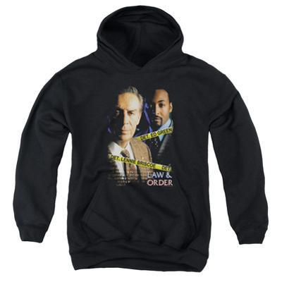 Youth Hoodie: Law & Order - Briscoe & Green