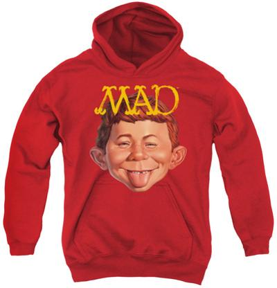 Youth Hoodie: Mad - Absolutely Mad