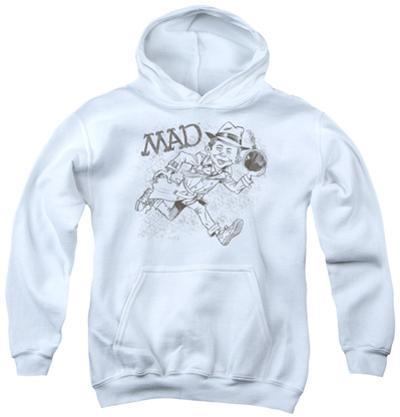 Youth Hoodie: Mad - Sketch
