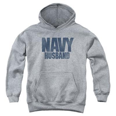 Youth Hoodie: Navy - Husband