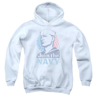 Youth Hoodie: Navy - Join Now
