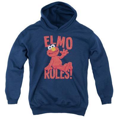 Youth Hoodie: Sesame Street- Elmo Rules