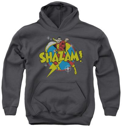 Youth Hoodie: Shazam - Power Bolt